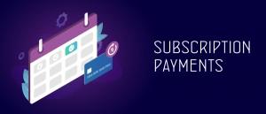 High risk subscription merchant account